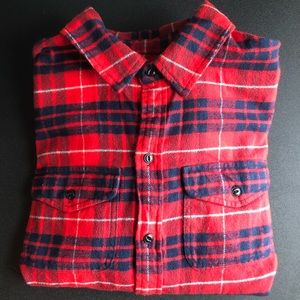 Red Madewell Flannel